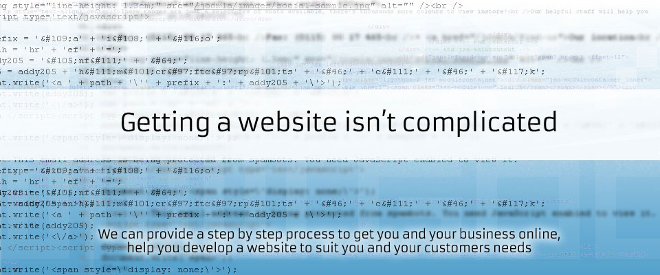 Websites without the hassle